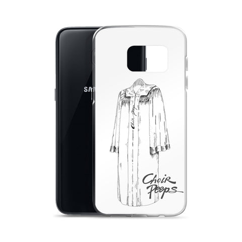 Samsung Case (white background) - Choir Peeps