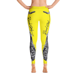 Leggings - Saxophone Yellow