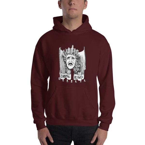 Hooded Sweatshirt - Drama King
