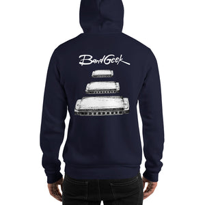 Hooded Sweatshirt - Harmonica