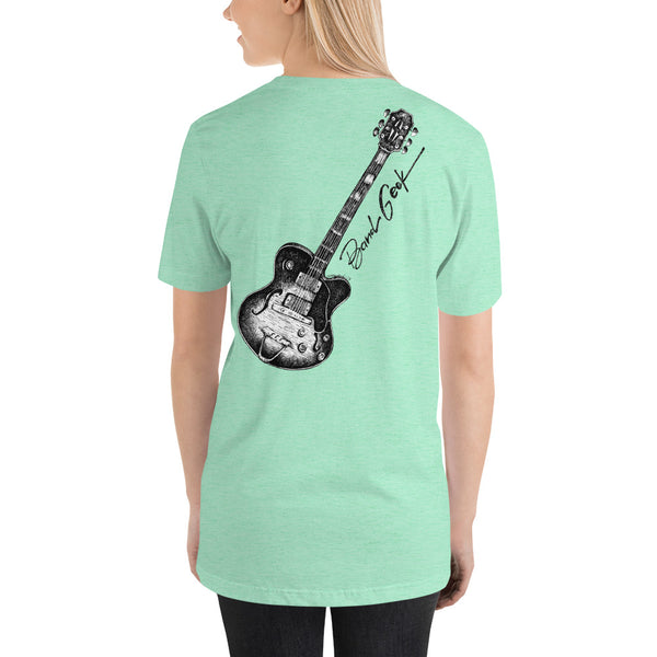 Short-Sleeve Unisex T-Shirt - Guitar