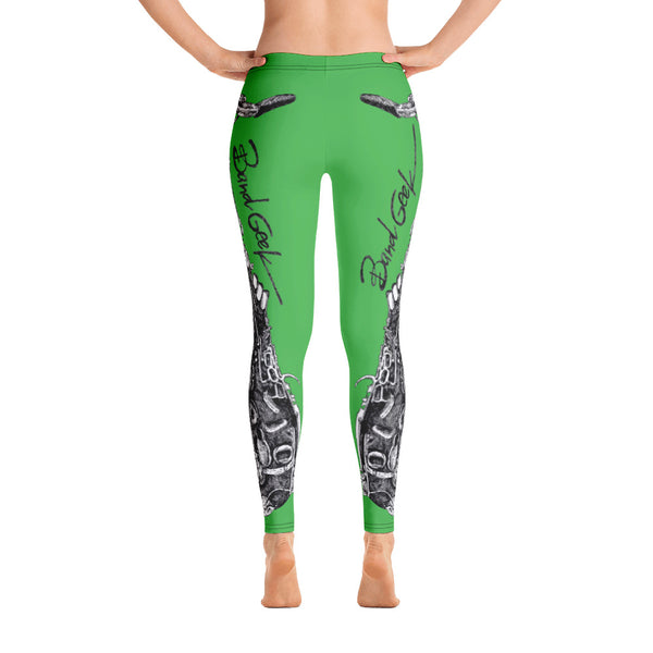 Leggings - Saxophone Green