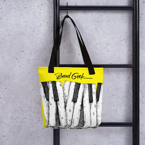 Tote bag - Keyboard Yellow