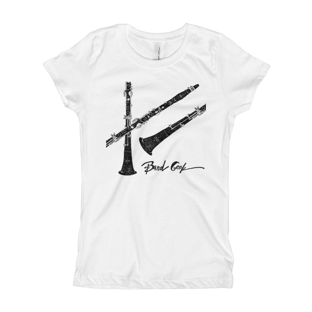 Girl's T-Shirt - Clarinet