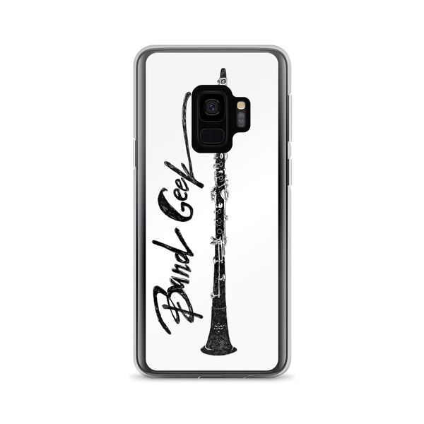 Samsung Case (white background) - Clarinet
