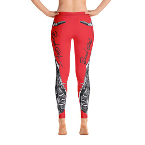 Leggings - Saxophone Red