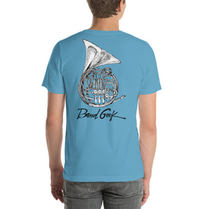 Short-Sleeve Unisex T-Shirt - French Horn
