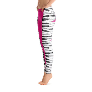 Leggings - Keyboard Pink