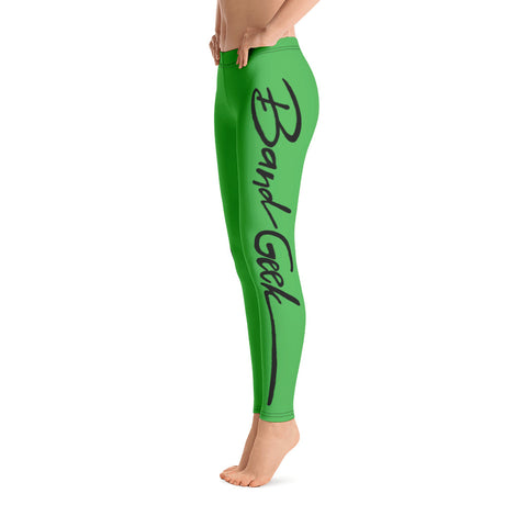 Leggings - Band Geek Green