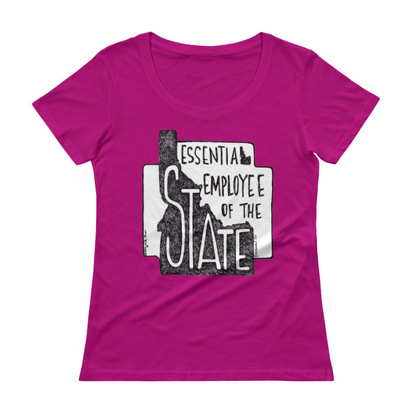 Essential Employee Ladies' Scoopneck T-Shirt