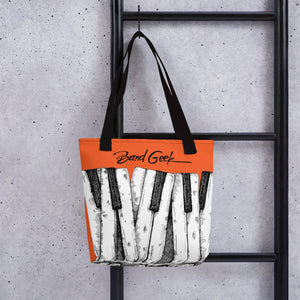 Tote bag - Keyboard Orange
