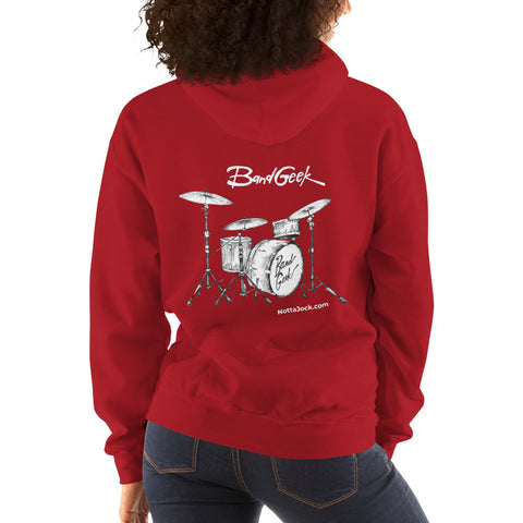 Hooded Sweatshirt - Drums
