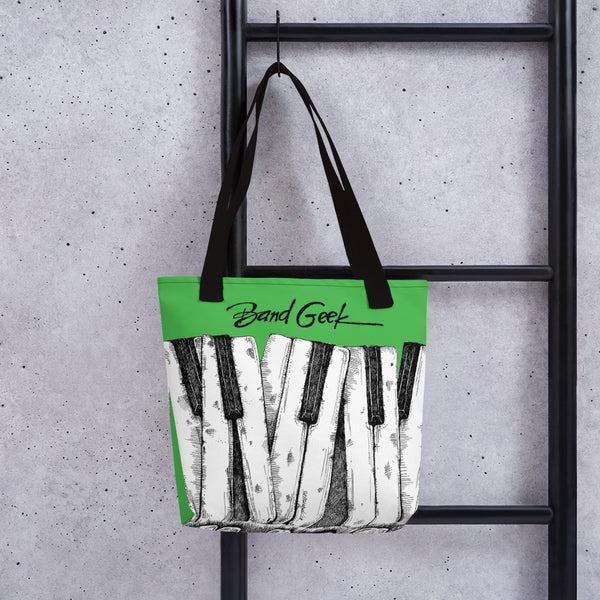 Tote bag - Keyboard Green