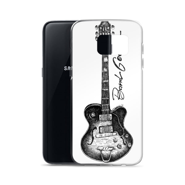 Samsung Case (white background) - Guitar