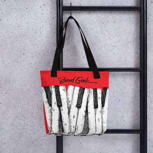 Tote bag - Keyboard Red