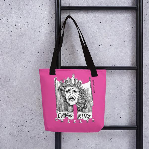 Tote bag - Drama King Pink
