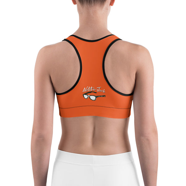 Sports bra - Choir Peep Orange