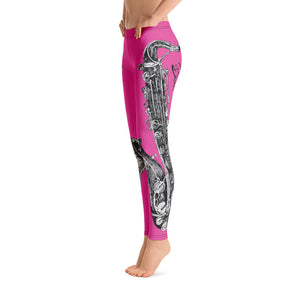 Leggings - Saxophone Pink