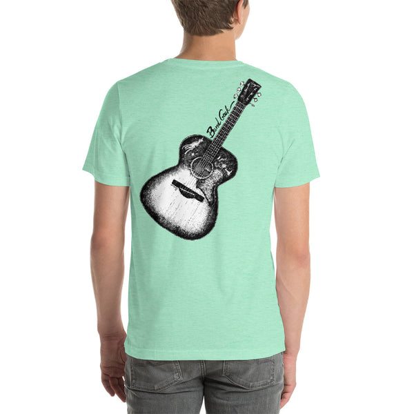 Short-Sleeve Unisex T-Shirt - Acoustic Guitar