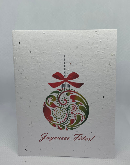 SPN1 SEED PAPER CARD