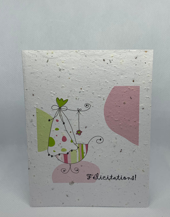 P30 SEED PAPER CARD