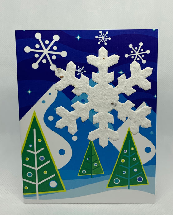 FL2 SEED PAPER SHAPE CARD