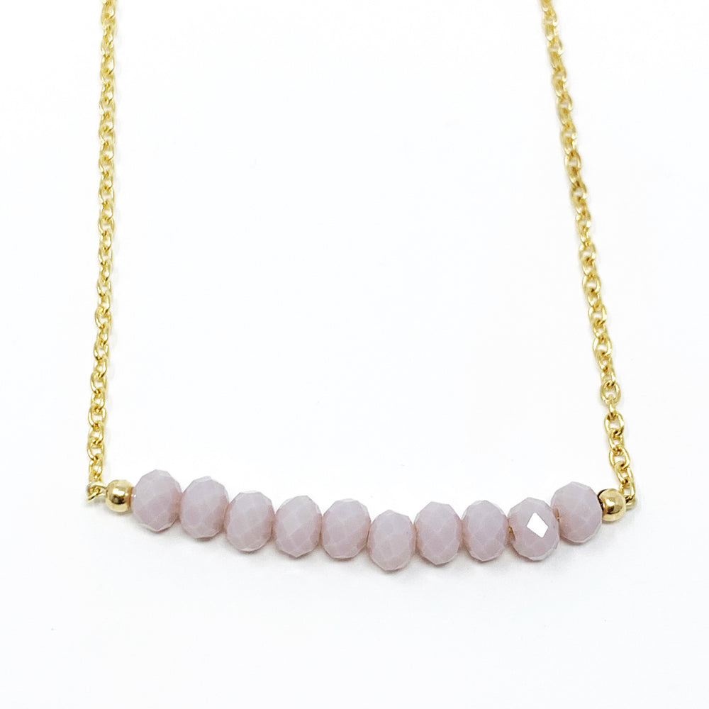 Lavender necklace