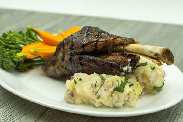 Lamb Shank - Fully Cooked (Sous-vide)