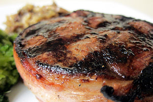 Steaks - Bacon Wrapped Filets - 4oz