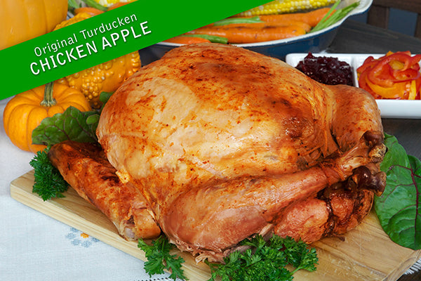 Turducken Chicken Apple (5kg)