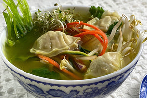 Wontons - Pork & Vegetables