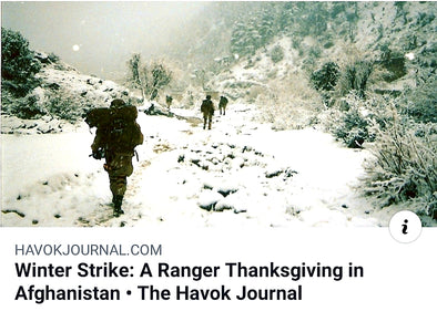TRCC Coffee - A Thanksgiving in Afghanistan Never To Be Forgotten