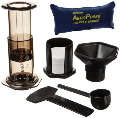 AeroPress Coffee Maker With Tote Bag - Three Rivers Coffee Company