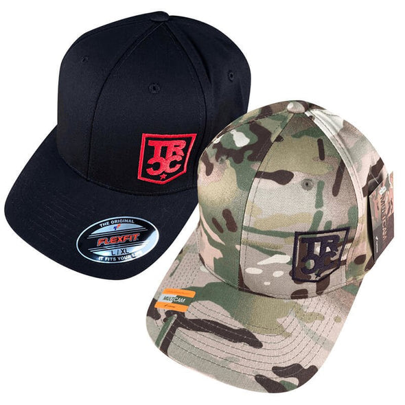TRCC Trucker Hat With Embroidered Shield Logo, Canvas Flexfit