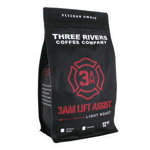 TRCC 3AM Lift Assist Light Roast Coffee 12 OZ Bag