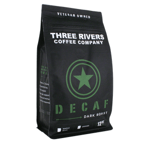 TRCC Decaf Dark Roast Coffee 12 OZ Bag