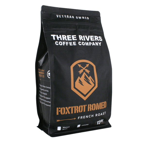 TRCC Foxtrot Romeo French Roast Coffee 12 OZ Bag