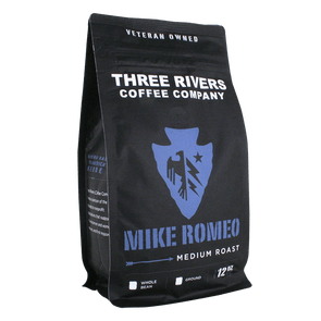 TRCC Mike Romeo Medium Roast Coffee 12 OZ Bag