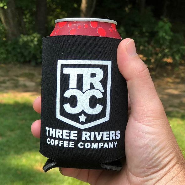TRCC Black Koozie With Logo