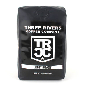 Three Rivers Coffee Company Light Roast Coffee 12 OZ Bag - Three Rivers Coffee Company
