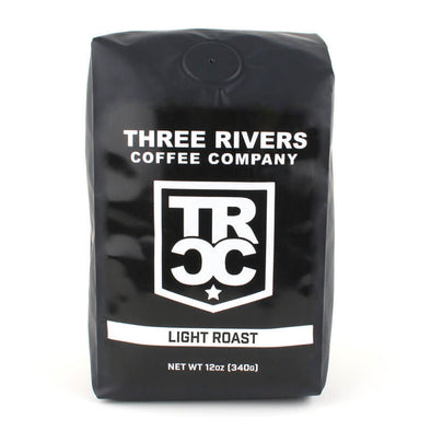 TRCC Light Roast Coffee 12 OZ Bag - Three Rivers Coffee Company
