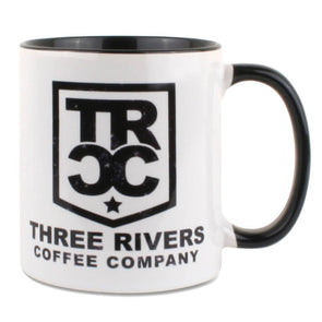 TRCC Coffee Mug 11 OZ - Three Rivers Coffee Company