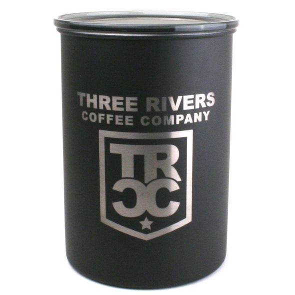 TRCC matte back coffee container