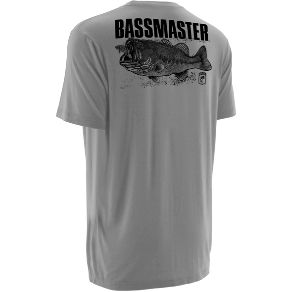 Bassmaster Big Gulp Grey T-Shirt
