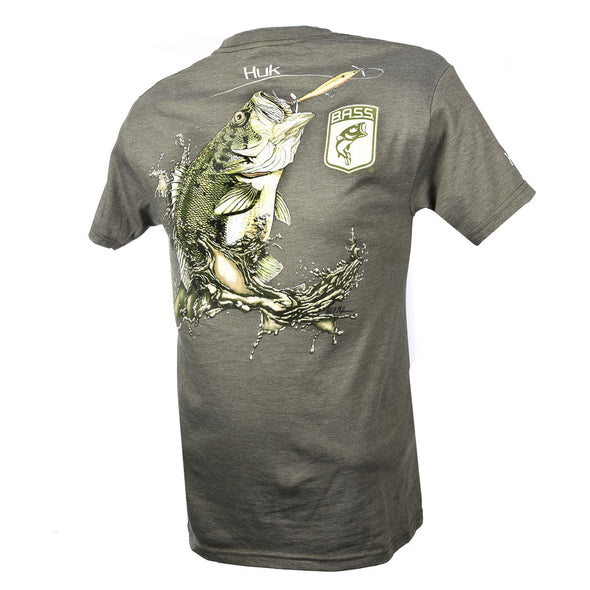 Bassmaster Morning Glory Olive Heather T-Shirt
