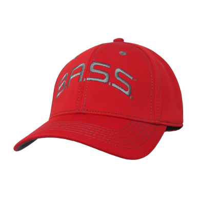 Bassmaster Red Deluxe Stretch Hat