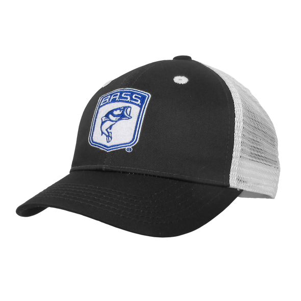 Bassmaster Black Patch Trucker Hat