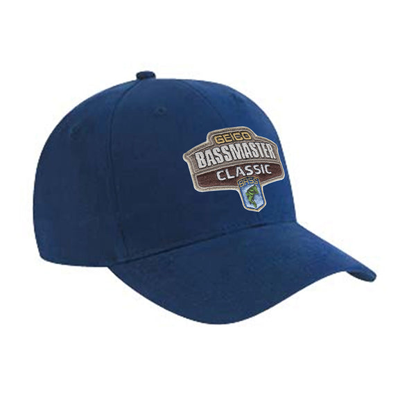 2017 Bassmaster Classic Houston, TX Navy Embroidered Cotton Hat