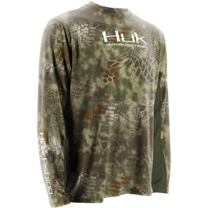 Huk® Kryptek Icon Mandrake Long Sleeve T-Shirt