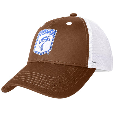Bassmaster Brown Patch Trucker Hat